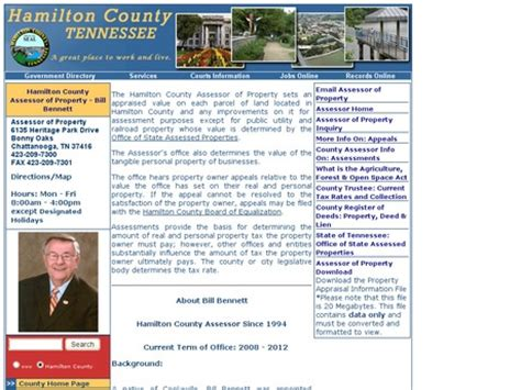 Hamilton County Tn Property Records Tennessee Property Tax Records Searches