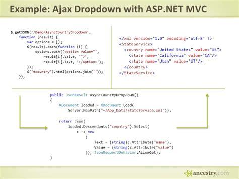 tutorial jquery ajax asp net jquery presentation