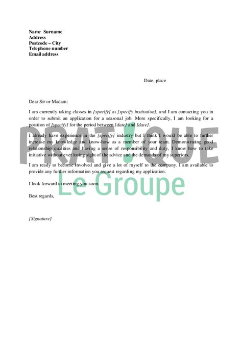 Lettre De Motivation On Anglais Lettre De Motivation Pour Un Stage Keywordsfind