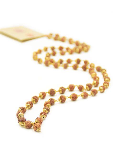 mantras for mala holy mantra mala necklace is handmade with rudraksha mala