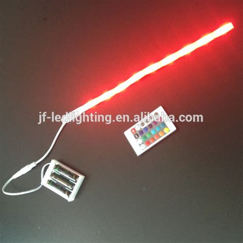 battery led light strips supermarket lighting battery operated colour changing led