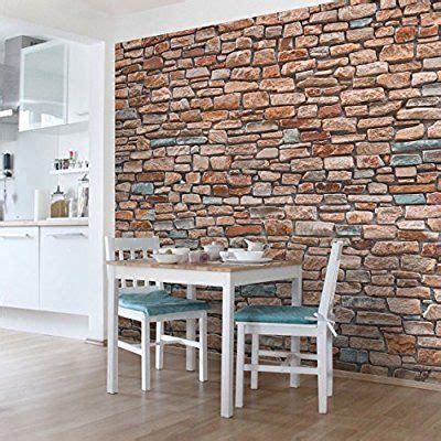 Wohnzimmer Ideen Wandgestaltung 5139 by Die Besten 25 Tapete Steinoptik Ideen Auf