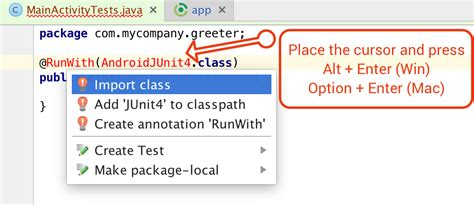 android studio junit tutorial testing activity in android studio part 2
