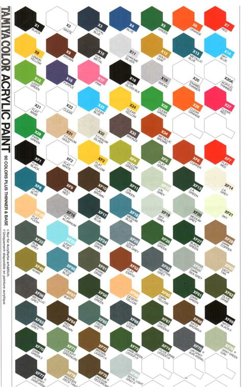 tamiya arcrylic color