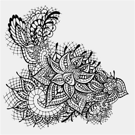 black lace tattoo design by tranquil eyez on deviantart