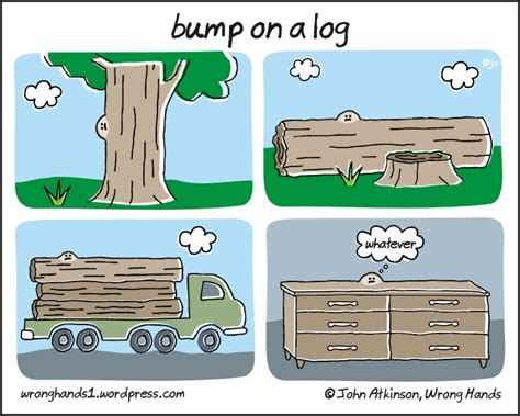 On A by Bump On A Log Wrong