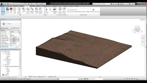 revit tutorial topography bim revit site design 01 creating topography l contour l