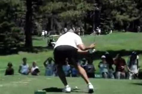 barkley golf swing february 2010 doin work