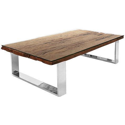 buck rustic lodge reclaimed wood glass steel coffee table 65 inch kathy kuo home