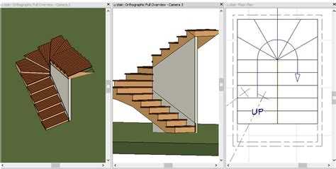 chief architect dimensions creating u shaped winder stairs tips techniques