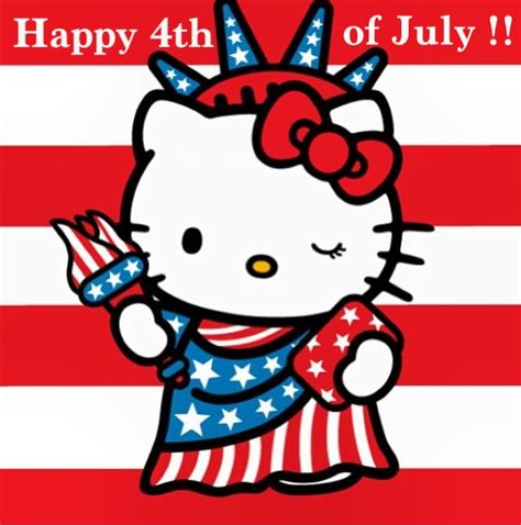 hello kitty red themes 137 best images about 39 cats the 4th of july along