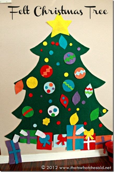 258 best felt christmas crafts images on pinterest