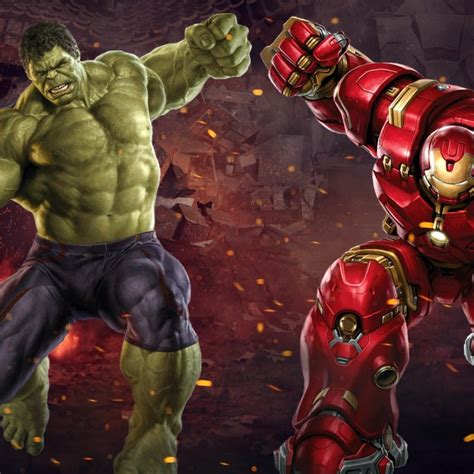 hulk iron man hd full hd p pc desktop