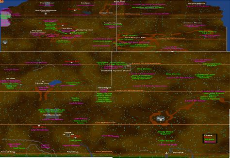 07 runescape map image rsc free area wilderness map png runescape