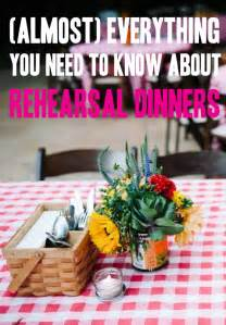 who is a wedding rehearsal dinner for get sh t done almost everything you need to about rehearsal dinners
