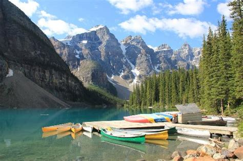 lake louise boat rental moraine lake picture of moraine lake lake louise