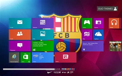barcelona wallpaper windows xp ouo themes barcelona fc 2013 2014 theme for windows 7 and