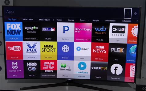 Play Store For Tizen Ces 2015 The Year Tvs Got Way Complicated Pcworld