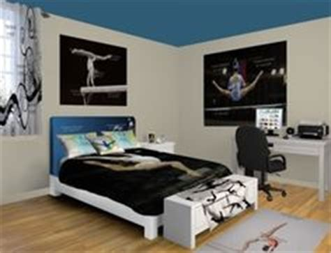 gymnastics themed bedrooms 1000 images about gymnastics themed bedroom on pinterest