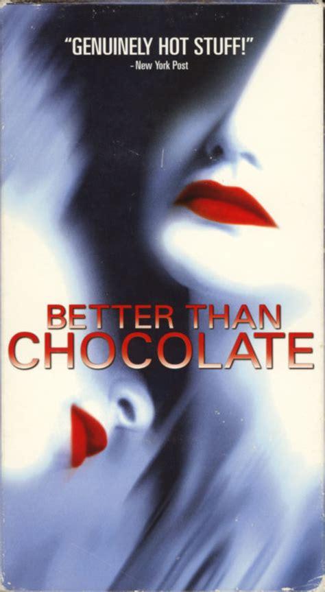 better than chocolate better than chocolate vhs island