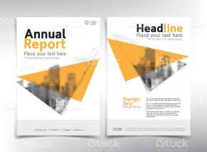 modern business cover page vector template yellow theme