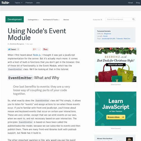 node js http module tutorial 34 best node js infographics images on pinterest info