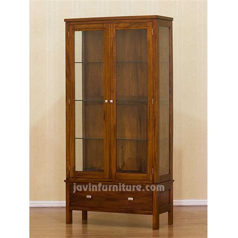 Wood Cabinet With Glass Doors Wood Cabinets With Glass Doors Peenmedia