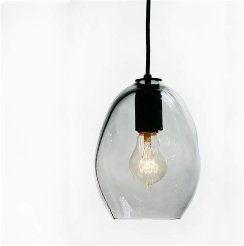 Hand Blown Bubble Glass Pendant Light Blown Glass Pendant Lights