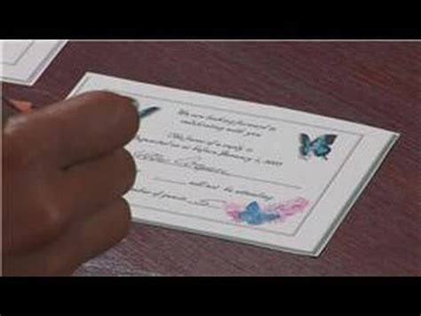 how do you sign a wedding response card wedding tips advice how to reply to an rsvp for a