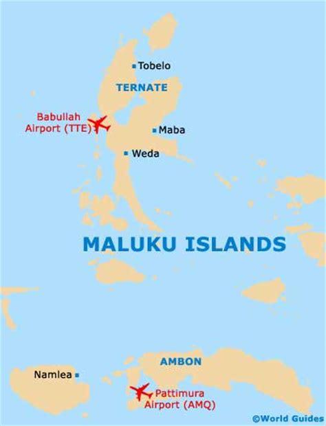 maluku islands maps  orientation maluku islands indonesia