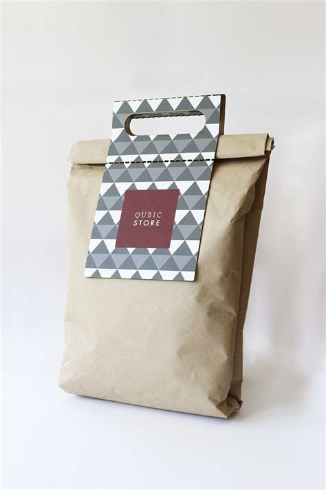 The Bag Forum New Design by Qubic Store Concept Packaging Creative Package Design