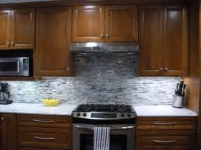 gray tile backsplash grey backsplash