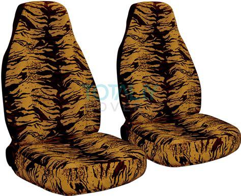 white tiger car seat covers animal print car seat covers front semi custom zebra