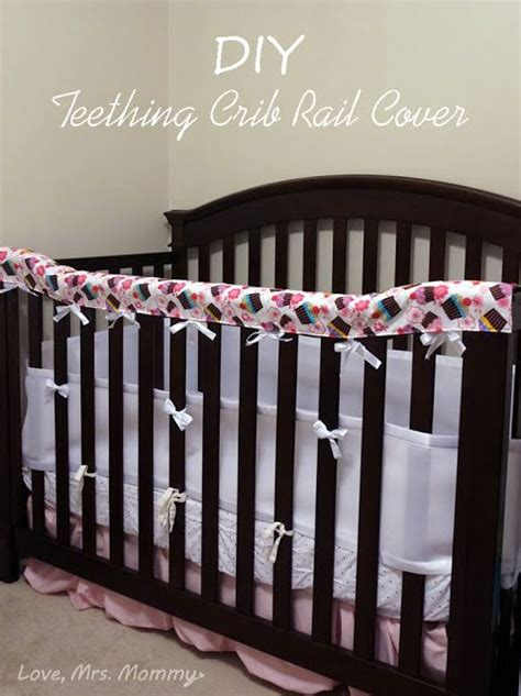 Diy Crib Rail Cover by Mrs Diy Teething Crib Rail Cover Baby