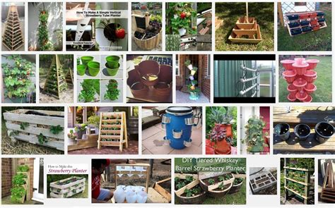 strawberry planter ideas our 2016 goals loving here