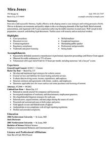 Attorney Resume Samples Lawyer Resume Examples Legal Sample Resumes Livecareer