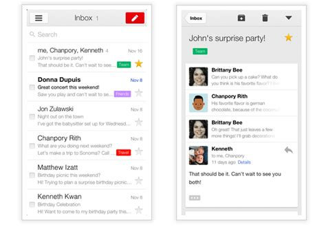 iphone gmail layout iphone 5 vs nexus 4 best google apps no longer android first