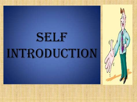 self introduction powerpoint template ppt on self introduction