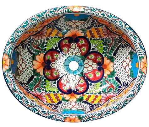 Mexican Ceramic Sink by 098 Small Bathroom Sink 16x11 5 Mexican Ceramic