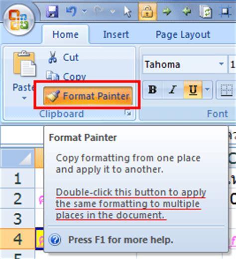 lock format painter excel 2007 เทคน คท ทำให ค ณทำงาน excel ได เร วข น jobcity