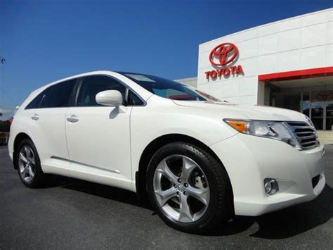 Toyota Used Certified Warranty Find Used 10 Venza Fwd V6 Panoramic Sunroof Jbl Toyota