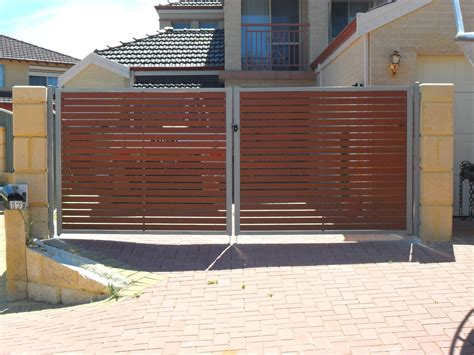 swing gates perth sliding swing gates perth craftsman fencing