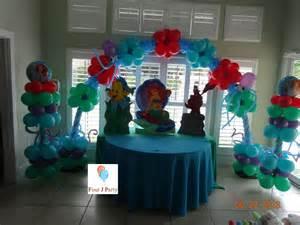 rental mermaid ariel decoration