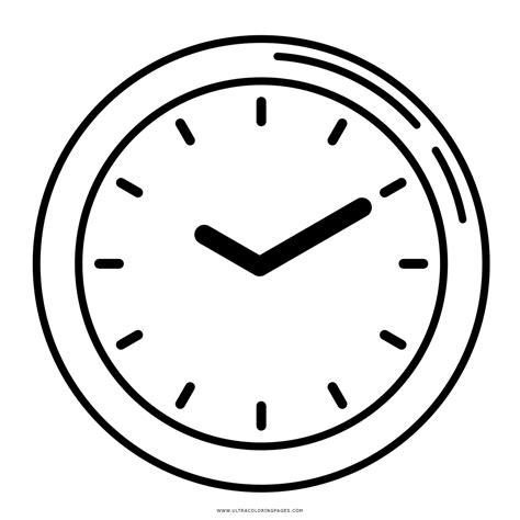 imagenes para colorear reloj dibujo de reloj para colorear ultra coloring pages
