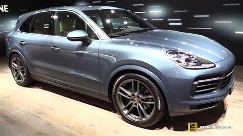 Interior Frankfurt by 2018 Porsche Cayenne Exterior And Interior Walkaround