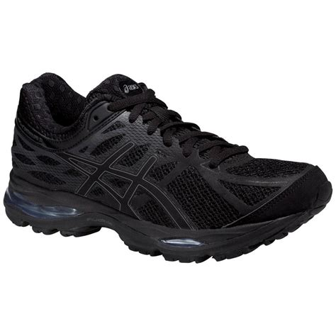 asics womens gel cumulus 17 running shoes black