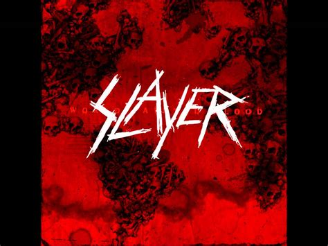 Blood Song The Of The Worlds slayer world painted blood lyrics hq