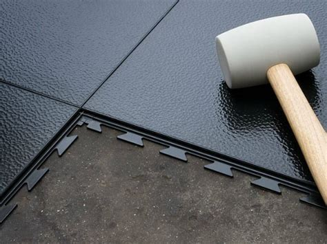 Rubber Mat Garage Floor Covering by Interlocking Garage Floor Tiles Get The Real Facts All
