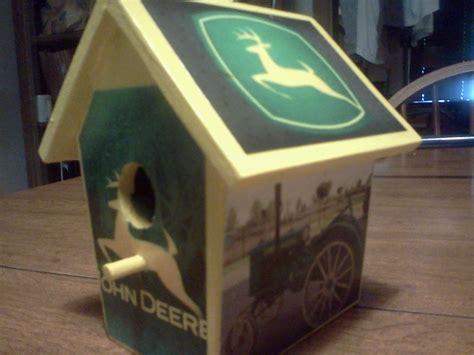 john deere house john deere bird house birdhouses pinterest