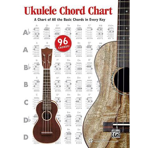 ukulele chord book 300 chords books alfred ukulele chord chart musician s friend